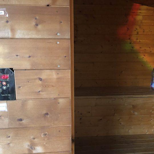 Sauna de l'espace Détente du Patio 34
